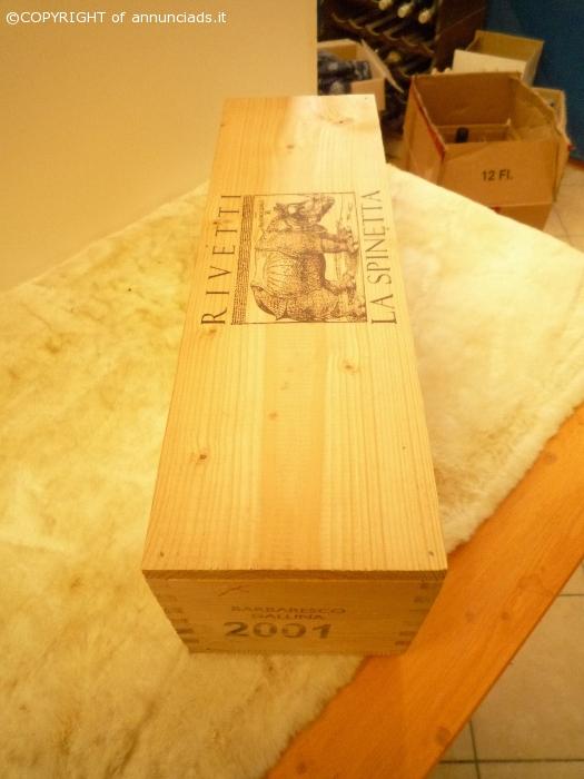 1 MAGNUM 2001 La Spinetta Barbaresco Gallina,Rivetti CON BOX LEGNO
