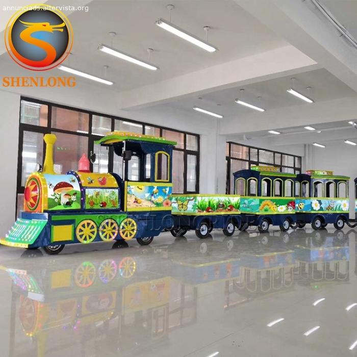 A buon mercato Prezzo Centro Commerciale Mini Trackless Treno Elettrico