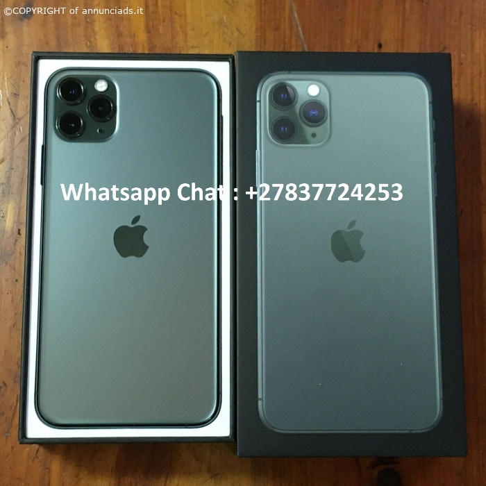 Apple iPhone 11 Pro 64GB €500, iPhone 11 Pro Max 64GB €530