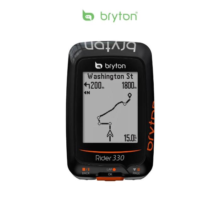 BRYTON Rider 330E GPS Computer bike con tecnologia ANT+ BR330E