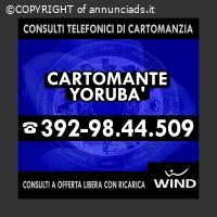 Consulta il Cartomante YORUBA' con un'offerta libera prepaga