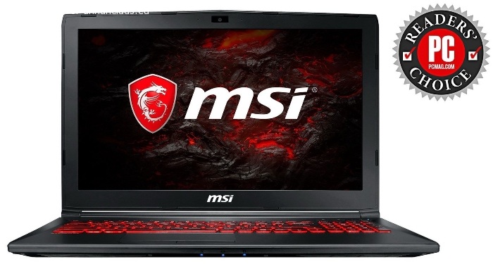 MSI GL62M 7RDX 15.6-Inch Full HD Core i7-7700HQ GTX 1050 (2GB) Gaming Laptop