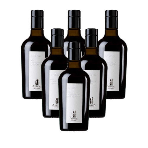 Olio Extravergine di Oliva 6 bottiglie cl. 25 Agr.Metinella - Montepulciano