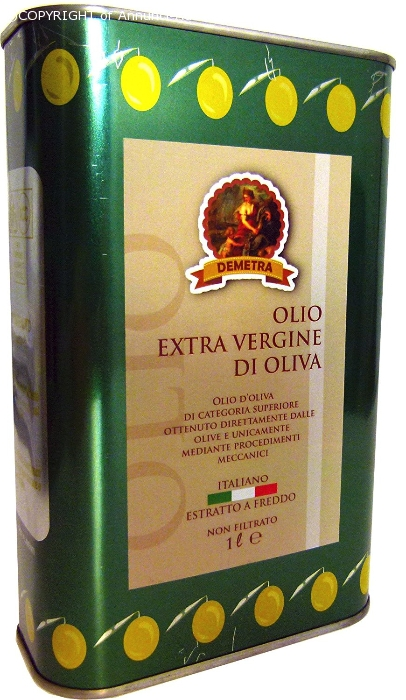 olio italiano, demetra