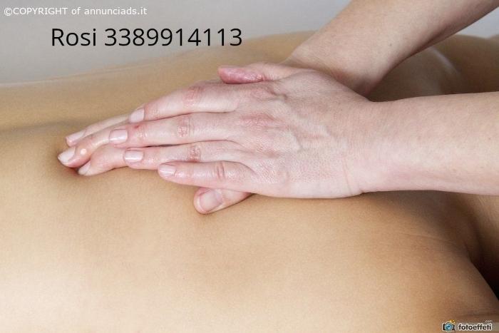 Ricevo ad ivrea rosi esegue massaggi 30 per mezzora un ora 60