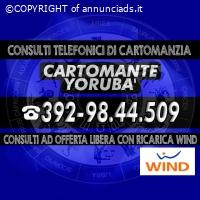 (¯`• STUDIO DI CARTOMANZIA CARTOMANTE YORUBA' •´¯)
