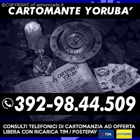 STUDIO DI CARTOMANZIA YORUBA'