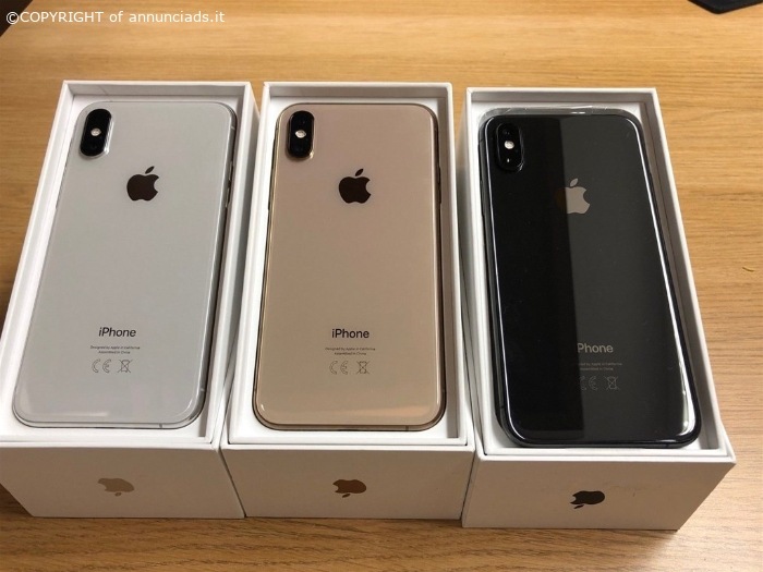 Apple iPhone XS 64GB per €400 ,iPhone XS Max 64GB per €430