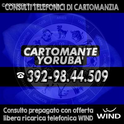 CARTOMANTE YORUBA': Lettura dei tarocchi