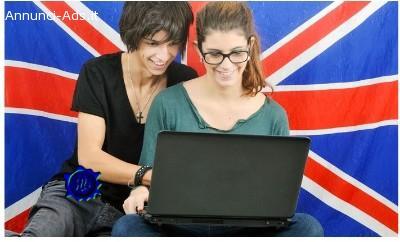 Corso online di inglese fino a 36 mesi con British School – English First (sconto fino a 96%)