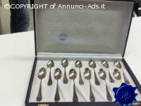 Cucchiaini Argento X12