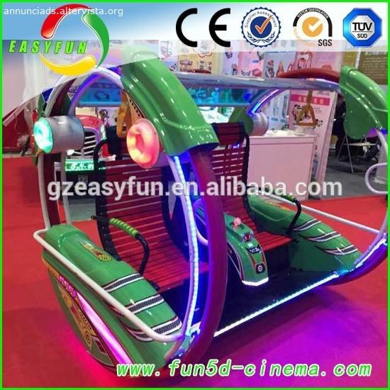 Divertente divertimento a gettone macchina felice giostre/miglior prezzo di macchina felice corse con gettoni usato di carnevale