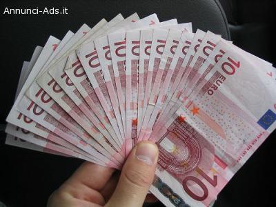 Fondo di commercio, offro prestiti