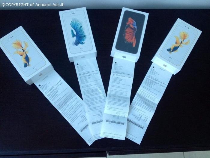mai usato iPhone 6S/ 6s plus E s8+ con scontrino