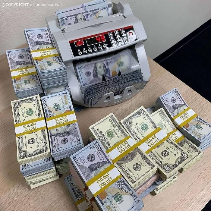 Offriamo prestiti, finanziamenti e investimenti