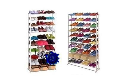Scarpiera scaffale per riporre fino a 40 paia di scarpe. Vari modelli disponibili da 14,99 € a 19,98 €
