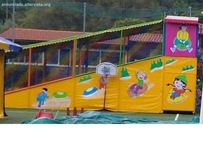 Slitta toboga gioco divertente per bambini
