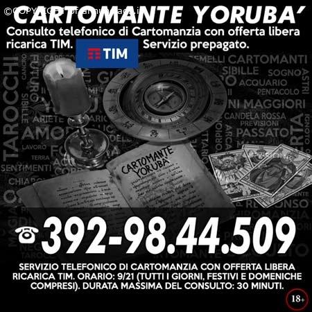 TAROCCHI A BASSO COSTO - CARTOMANTE YORUBA'
